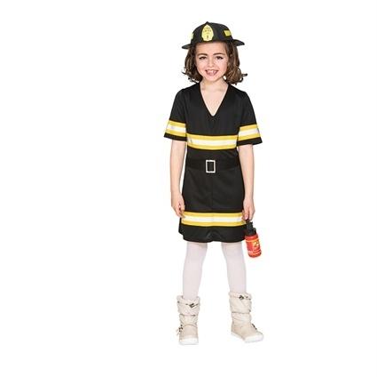 Brandweer vrouw jurkje