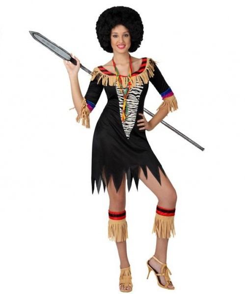 Afrikaanse zulu jurkje