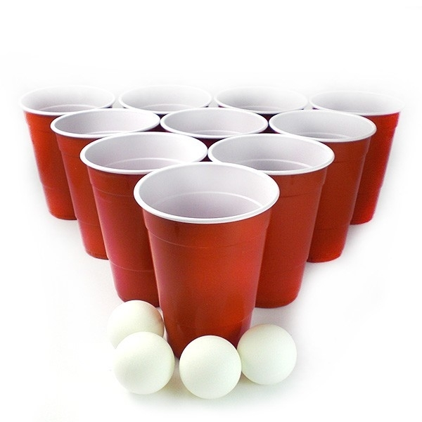 Beer pong sets | American Cups | Goedkope Feestkleding | Versieringen |  Feestartikelen | Carnavalskostuums | Feestartikelen4u.nl