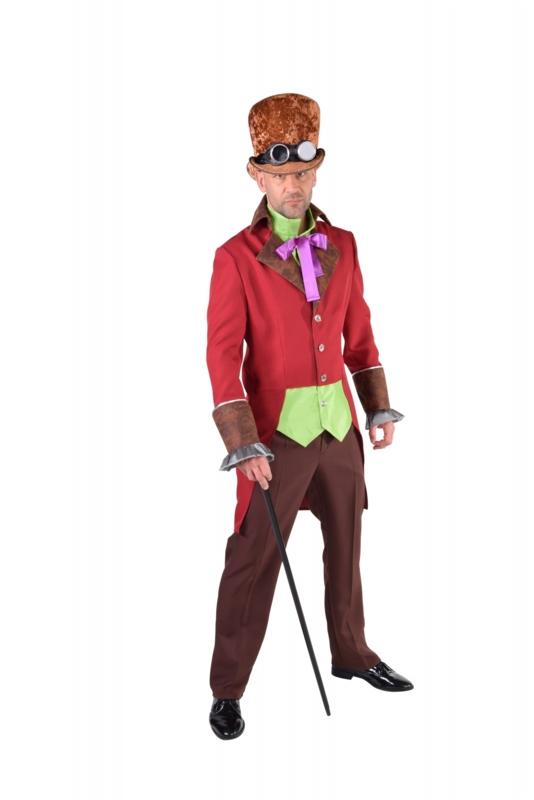 Steampunk burlesque kostuum