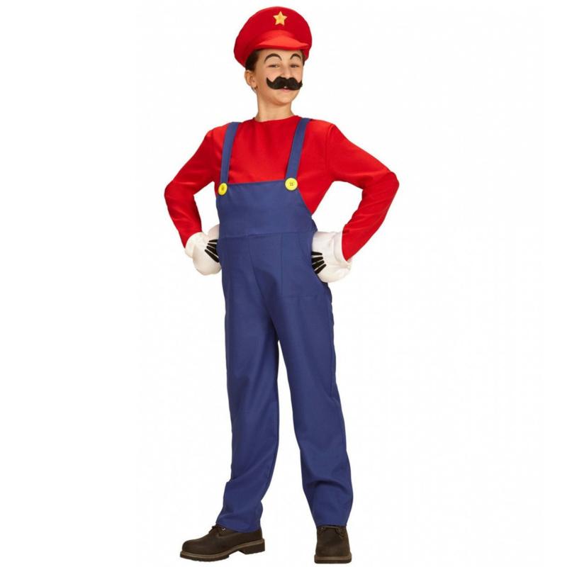 Super Mario loodgieter kostuum