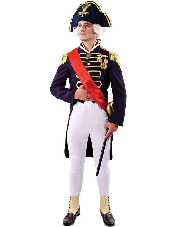 Admiraal kostuum | Feestkleding heren | Goedkope Feestkleding |  Versieringen | Feestartikelen | Carnavalskostuums | Feestartikelen4u.nl
