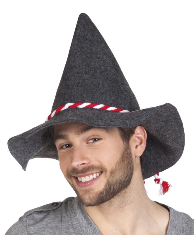 Oktoberfest bavaria hoed rood wit