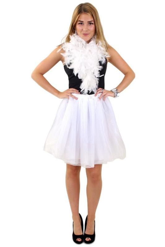 Wonderlijk Tule rok wit deluxe | Feestkleding dames | Goedkope Feestkleding TF-36