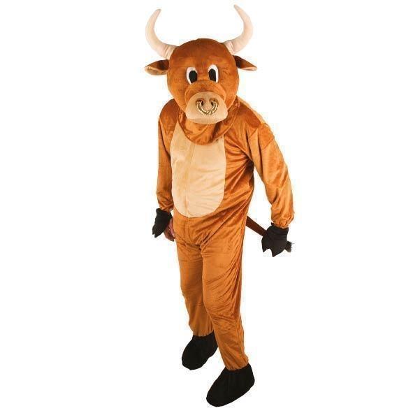 Giant stier kostuum mascotte