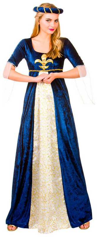 Medieval maiden middeleeuws kostuum