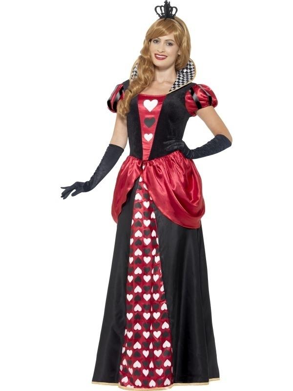 Royal red queen jurk