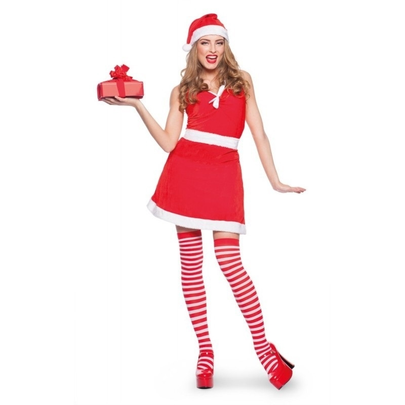Rood Jurkje Goedkoop.Sexy Kerstvrouw Jurkje Kerst Kleding Goedkope