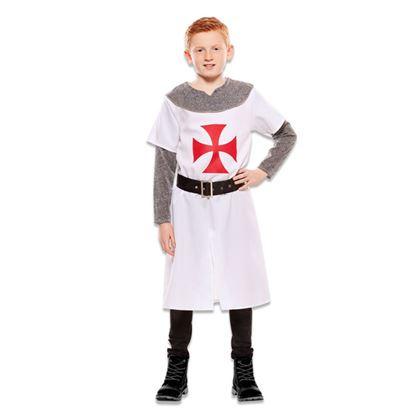 Middeleeuwse ridder wit
