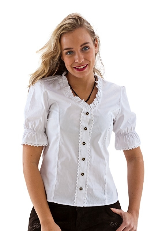 Spiksplinternieuw Trachten blouse wit | Feestkleding dames | Goedkope Feestkleding JN-18
