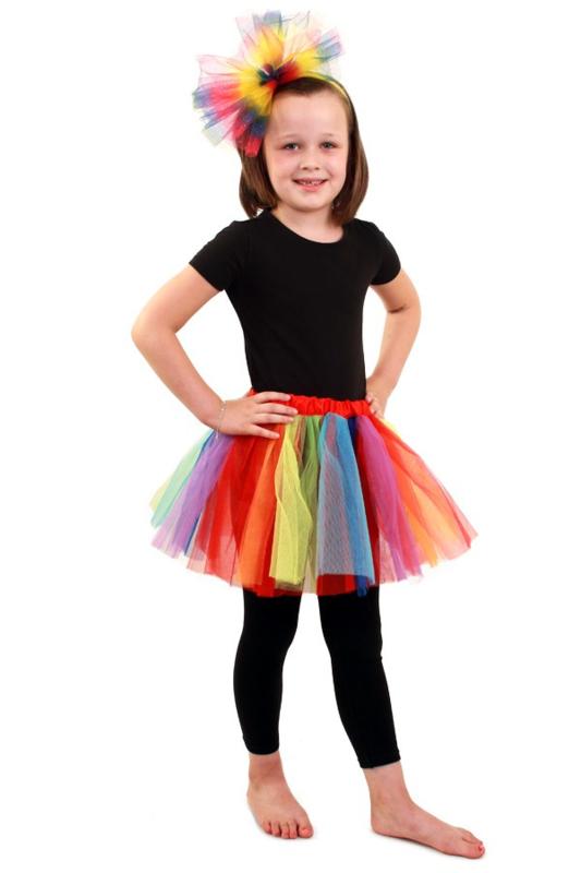 Ongekend Tule rokje regenboog | Feestkleding Meisjes | Goedkope IP-06