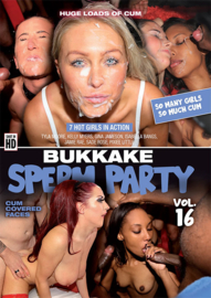 Bukkake Sperm Party 16
