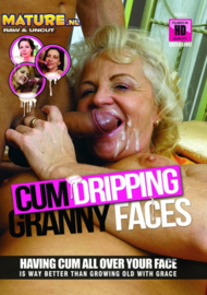 Cum Dripping Granny Faces