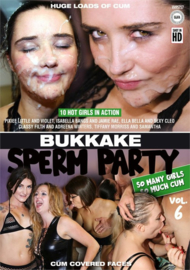 Bukkake Sperm Party 06