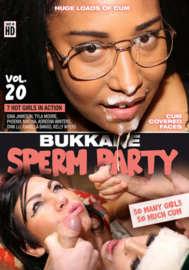 Bukkake Sperm Party 20