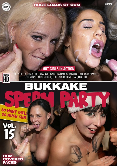 Bukkake Sperm Party 15