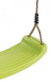 Schommel zitje plastic limoen groen (110.001.005.001)