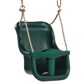 KBT Babyzitje `luxe` Groen/ groen