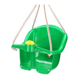 Baby Swing schommel in de kleur groen.