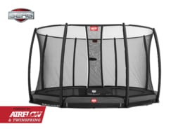 BERG Inground Champion Grijs + Safety Net Deluxe