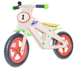 Wooden balance bike (93021)