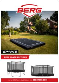 Berg Favorit Ultim 280x190 Zwart + Safetynet comfort