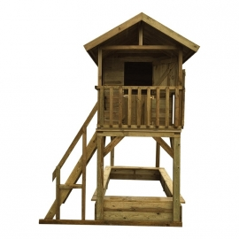 Houten Speelhuis Treehouse De Luxe