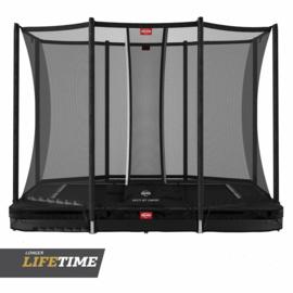 Berg Favorit inground Ultim + Safety net comfort zwart