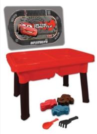 Zand en water tafel Cars