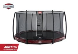 BERG Inground Elite Rood  + Safety Net Deluxe