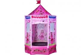 Hudora Speeltrampoline Tent Princessen