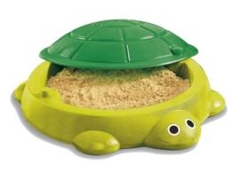 Little Tikes Turtle zandbak Evergreen (0712006) met gratis speelzand 25kg bij afhalen