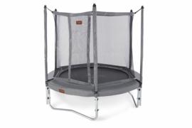 Pro-line trampoline HD Plus + net boven +  Glasfiber + Trapje