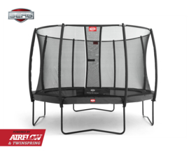BERG Champion Grijs 430 + Safety Net Deluxe