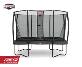BERG Ultim Grey 220*330 + Safety Net Deluxe