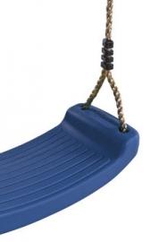 Schommel zitje plastic donker blauw