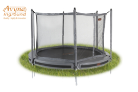 Pro-Line Inground Trampoline HD Plus + Vangnet + Glasfiber