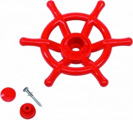 Piraten Stuurwiel Rood (503010001001)