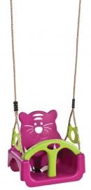 KBT Schommel Babyzitje `trix` paars/limoen groen (132001007003)