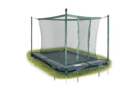 Pro-line trampoline rechthoek Inground + Vangnet