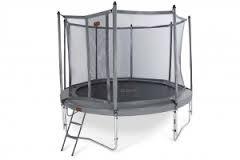 Pro-line trampoline rond + net boven + ladder
