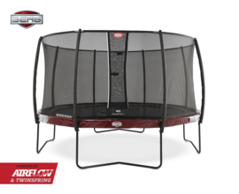 BERG Elite Rood  + Safety Net Deluxe