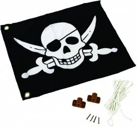Piratenvlag met ophijssysteem (507012010001)