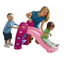 Little Tikes Easy Store jr glijbaan roze (0723003)