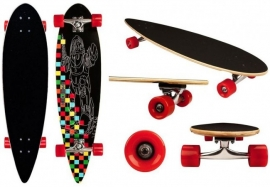 Longboard 36'' Pintail Black Dragon (52OR-ZWR) GRATIS VERZENDING