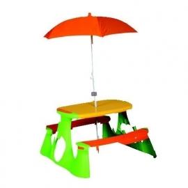 Picknicktafel Paradiso met parasol (71201571)