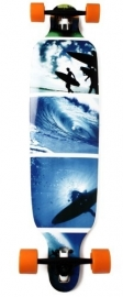 Longboard 41'' (Blue Surf) GRATIS VERZENDING