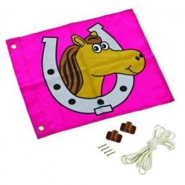 KBT Vlag met hijssysteem Paard (507.014.010.001)