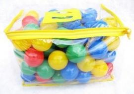 Speelballen 6,5 cm 100 stuks