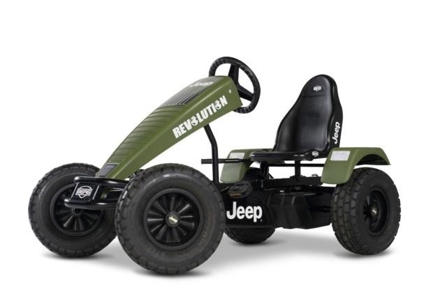 Jeep Revolution BFR Pedal Go-Kart (071106)